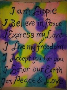☮ American Hippie Quotes ~ I'm a Hippie ✌ ☮ Hippie Baby, Hippie Peace, Happy Hippie, Hippie Love, Hippie Chick, Hippie Style, Hippie Things, Hippie Vibes, Peace Love Happiness