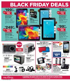 Sears Black Friday 2014 Electronics Ad ★ Shop and ship with #borderlinx ★