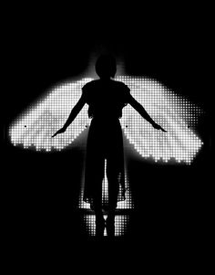 Dominic Harris and Cinimod Studio have created Ice Angel – an interactive installation that you can see as part of London Design Festival 2012 at the V.