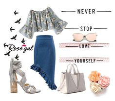 """Never stop love your self!!"" by mercija on Polyvore featuring moda"