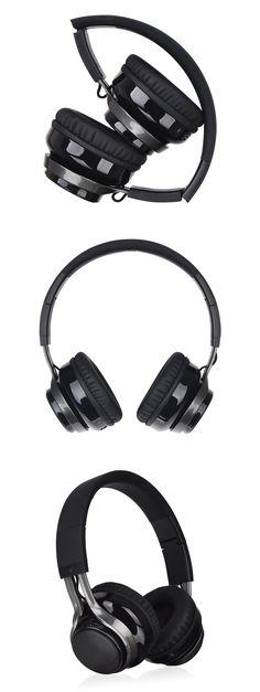 Luxa2 Lavi S Over-Ear Wireless Headphones [AD-HDP-PCLSBK-00] : PC Case Gear