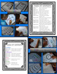 Interactive Math Journal for Kindergarten!