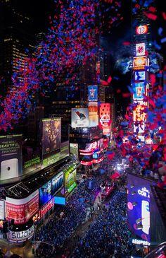 New Year's Eve, New York City, 2013.