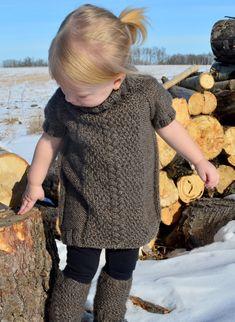 e4f799419 Knitting pattern sweater dress   knit pattern dress   child s knit dress  pattern   child s dress   b