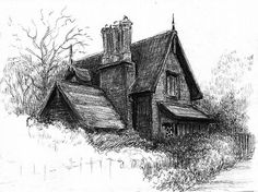 Pen and Ink Drawing  Lessons   Thinking About Art: Drawing with a Ballpoint Pen - Part 3