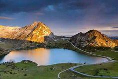Lago Enol. Asturias. España