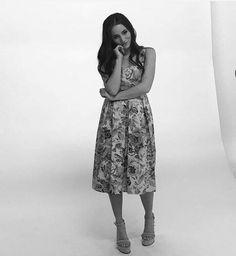 """Carolina Kopelioff haciendo fotos para la Revista """"Para Teens"""" de la edición de agosto 2017"""