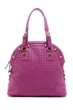 Woven Zip Handbag by Segolene Paris on @HauteLook
