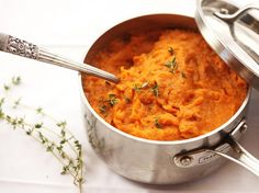 The Best Mashed Sweet Potatoes #Roasted #Mashed #SweetPotatoes