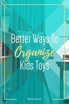 Living Room and Bedroom Kids Toys Organization - Organization Tips For Kids Toys - Cheap Ways To Organize Kids Toys Organizing Clutter, Organizing Ideas, Small Space Organization, Toy Organization, Organize Kids, Bedroom Kids, Clean House, Kids Toys, Small Spaces