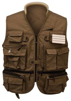ToadSkinz™ Hellbender™ Pack Vest  Starting at: $59.95  frogg toggs® now has this lightweight fishing vest with the Dripore™ technology, Super tough and light weight function with a traditional multi-pocket Vest design, at an exceptional frogg toggs® value.
