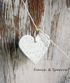 Heart Garland French & Sparrow