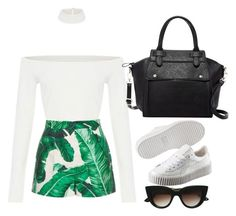 """🌺"" by gherasim-alicia on Polyvore featuring E L L E R Y, Dolce&Gabbana, Pink Haley and Puma"