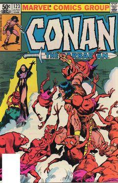 conan+the+barbarian+%23123B+by+John+Buscema+1981.jpg (735×1137)