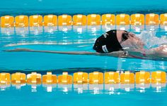 Gisela Morales of Guatemala competes during the Swimming Women's 200m Backstroke preliminaries heat one  on day fourteen of the 15th FINA World Championships at Palau Sant Jordi on August 2, 2013 in Barcelona, Spain.