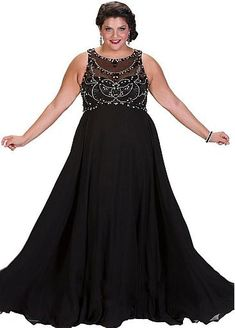 b3295b1231f6d Sydneys Closet will help you earn endless compliments when you opt to wear  this 2017 Prom plus size dress. Sophisticated Empire design in luxurious  flowing ...