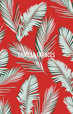 Textile Pattern Design, Surface Pattern Design, Textile Patterns, Print Patterns, Textiles, Leaf Prints, Floral Prints, Art Prints, Tropical Prints