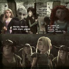 Awkward by 1JoyDreamer.deviantart.com on @deviantART. It's nice to know that Hiccup has some protective human friends.