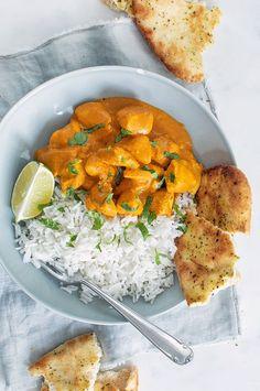 Kip tandoori - Makkelijk en vers! - Leuke recepten A Food, Food And Drink, Happy Foods, Food Inspiration, Food To Make, Curry, Healthy Recipes, Healthy Food, Yummy Food