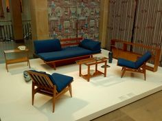 Polish Furniture Design from the '50s and '60s at the National Museum