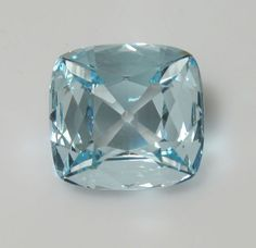 The Bazu diamond Weight:  32.62 carats. Dimensions: 17.74 x 12.44 deep (hex) 22.88 x 21.56 x 8.95 (CA) Color: Colorless (hex) Light blue (CA) Stolen in 1792 and not recovered.