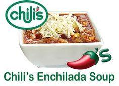 Chili's Chicken Enchilada Soup Recipe