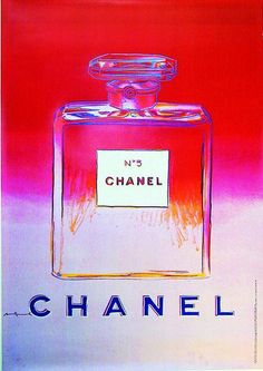 CHANEL Nº5 by Andy Warhol - One of my faves by him because my Grandma has worn Chanel N° 5 ever since I can remember ♡