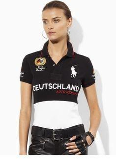 #Ralph Lauren Stripe Women Polo