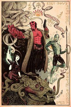 In Service of Monsters – A Guillermo Del Toro Tribute @Gallery 1988 | Geek Art – Art, Design, Illustration & Pop Culture ! | Art, Design, Illustration & Pop Culture !