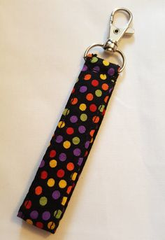 Check out this item in my Etsy shop https://www.etsy.com/uk/listing/478578159/key-fob-autumn-polka-dot