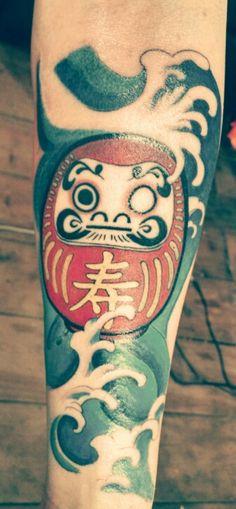 Tattoo Daruma