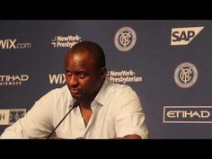 New York City FC Press Conference ~7/19