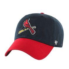 St. Louis Cardinals - Logo Clean Up Adjustable Baseball Cap   OldGlory.com