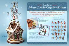 Jim Shore Home Sweet Gingerbread Home - Gingerbread House Advent Calendar