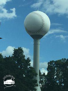 Baseball Water tower