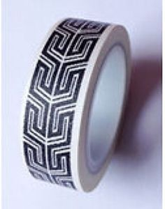 Washi-Tape-black-white-10-m-Roll-Decorative-Sticky-Paper-Masking-Tape-Adhesive