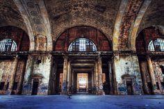 Opustená elektráreň – Lackawanna, New York