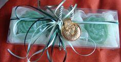 Study in Olive Green  Elegant Gift Set for di JoannasScentedSoaps