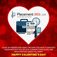 Valentine's Day is a special day and it becomes all the more interesting when you receive gifts and wishes from your loved ones. Happy Valentine's Day. Job Portal, Trending Topics, Happy Valentines Day, Special Day, Are You Happy, More Fun, My Friend, First Love, Make It Yourself