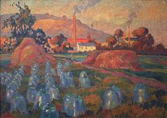 File:Robert Antoine Pinchon, 1921, Le Jardin maraicher, oil on canvas, 74 x 100 cm, Musée des Beaux-Arts de Rouen..jpg - Wikipedia, the free encyclopedia