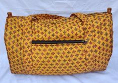 Sari Fabric, Cotton Fabric, Fabric Material, Duffel Bag, Tote Bag, Weekender, Quality Lingerie, Monogram Tote, Vintage Coat
