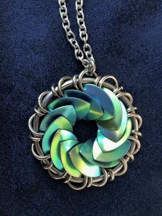 Turbine scale necklace by Jenifer Lauren Martinez
