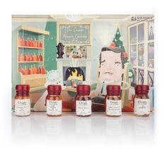 The Drinks by the Dram's Adult Advent Calendar is Full of Christmas Spirits #advent #holiday trendhunter.com