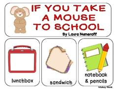 Printables If You Take A Mouse To School Worksheets mice and a mouse on pinterest if you take to school whole group sequencing activity writing prompt start the