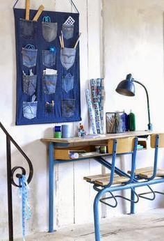 30 ideas para Reciclar vaqueros - Jeans | Aprender manualidades es facilisimo.com