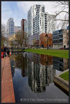 Rotterdam: Calypso (The Netherlands) - bewri Rotterdam Architecture, Rotterdam Netherlands, Eindhoven, Most Beautiful Cities, Delft, Amsterdam, Facade, Dutch, Gem