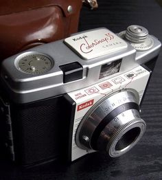 Vintage Kodak Colorsnap 35 Camera with Leather Field Case by Juniper Home Vintage on Scoutmob Shoppe Movie Camera, Vintage Cameras, Leather, Beauty, Cinema Camera, Film Camera, Camcorder, Beauty Illustration