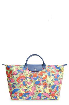 Longchamp x Jeremy Scott 'Le Pliage - Humpty Dumpty' Travel Bag