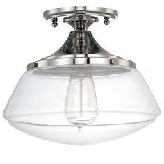 Modern Diner Flushmount Ceiling Light