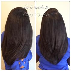 straight sleek sew-in action flawless